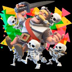 Clash Royale Guerrero Videojuegos en Urano Games