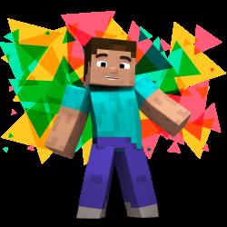 Minecraft personaje del videojuego en Urano Games