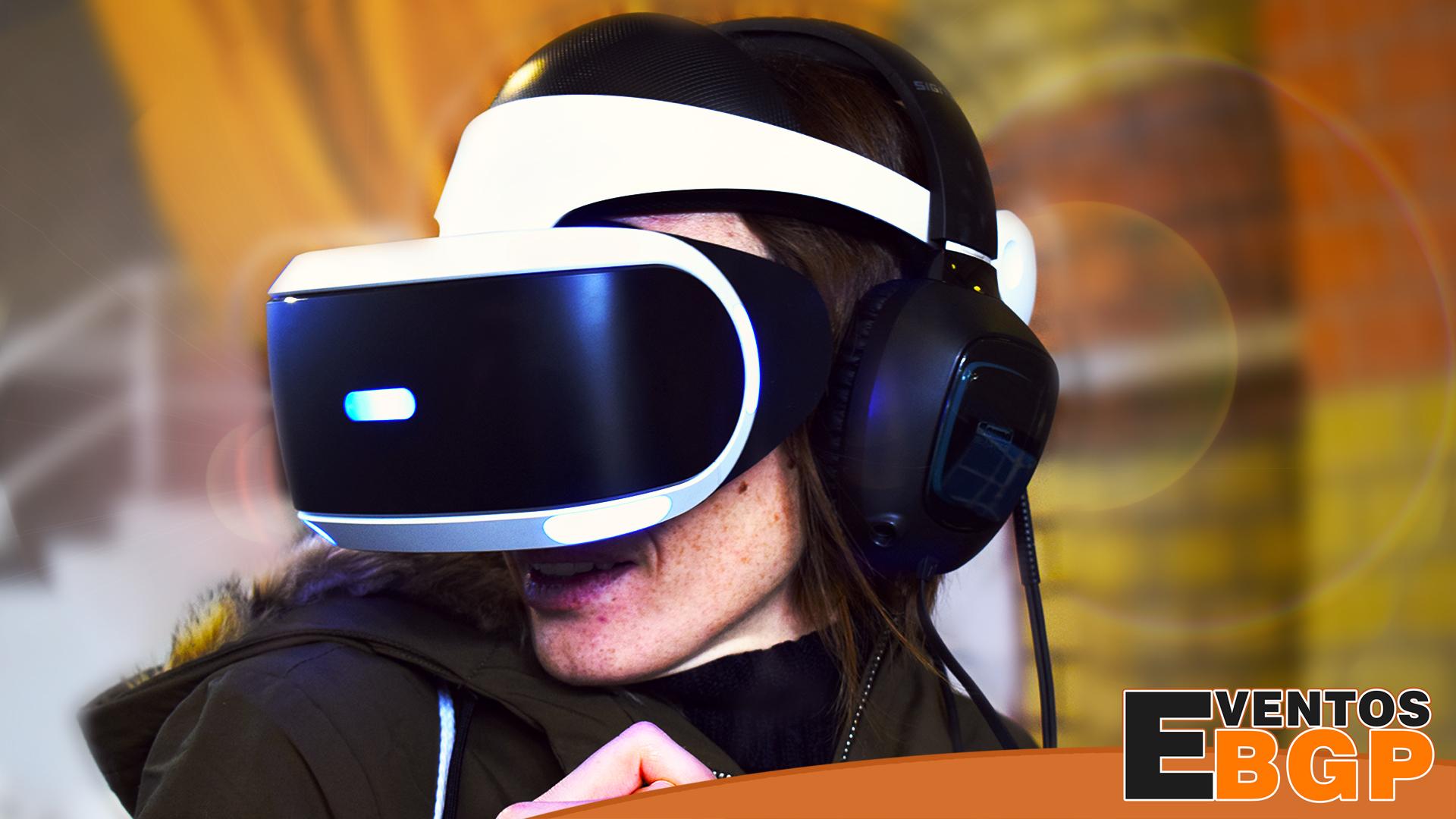 Realidad Virtual puesto de juego en Eventos BGP